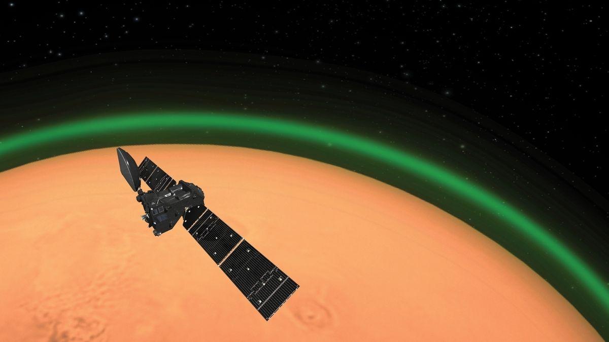 Grünes Licht für den roten Planeten