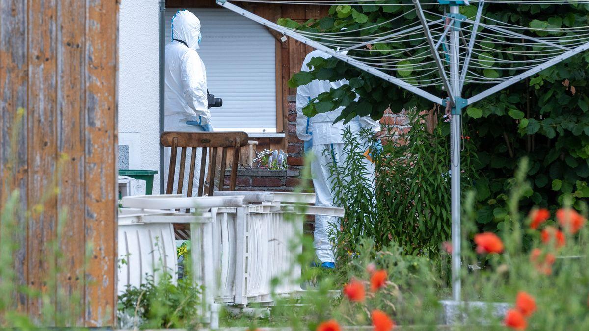 Der Tatort in Büchelkühn. Hier wurden die beiden Mordopfer am Montag gefunden.