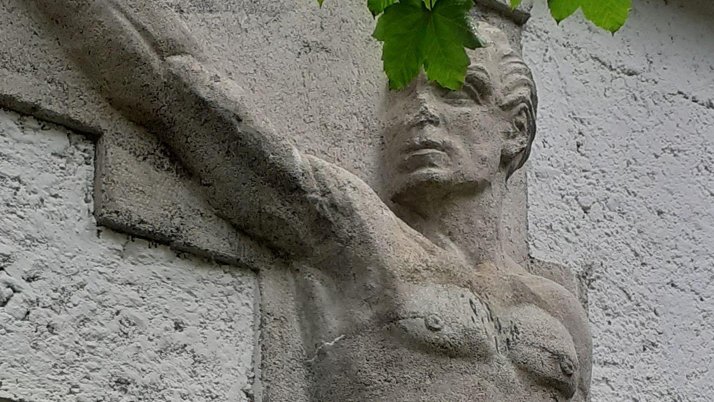 NS-Kunst in Garmisch-Partenkirchen.
