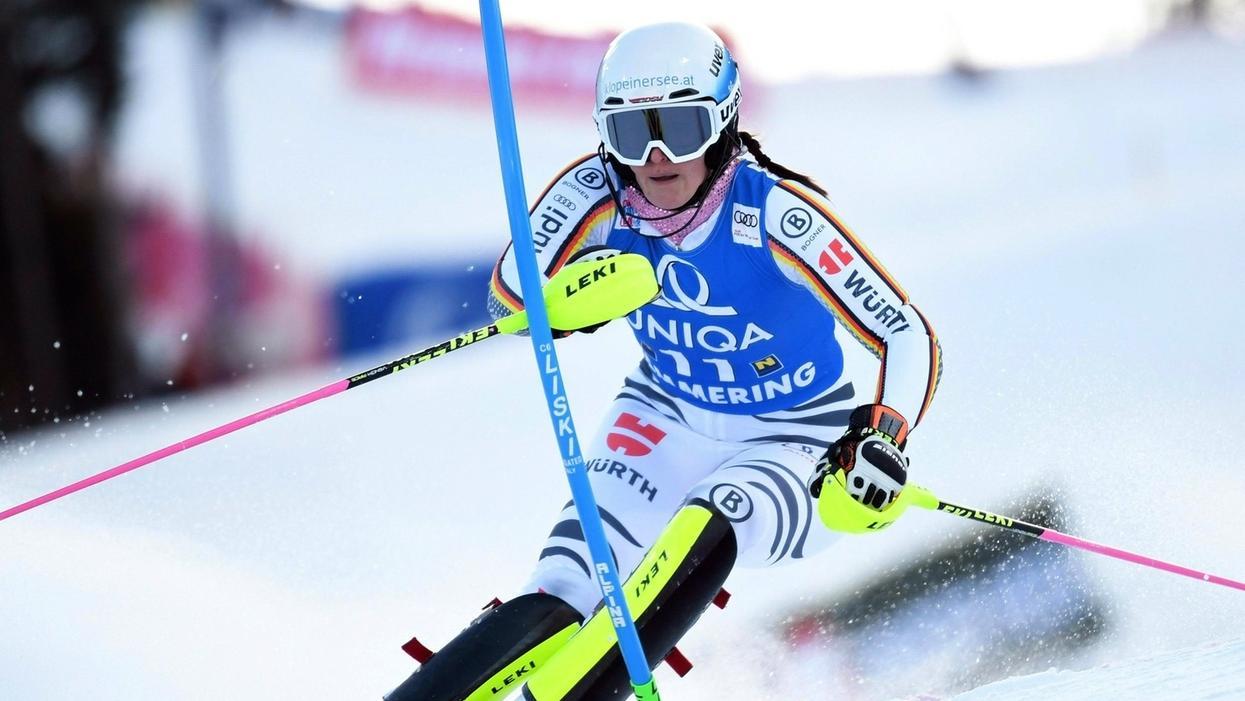 Christina Geiger auf der Piste beim Weltcup in Semmering am 29.12.18