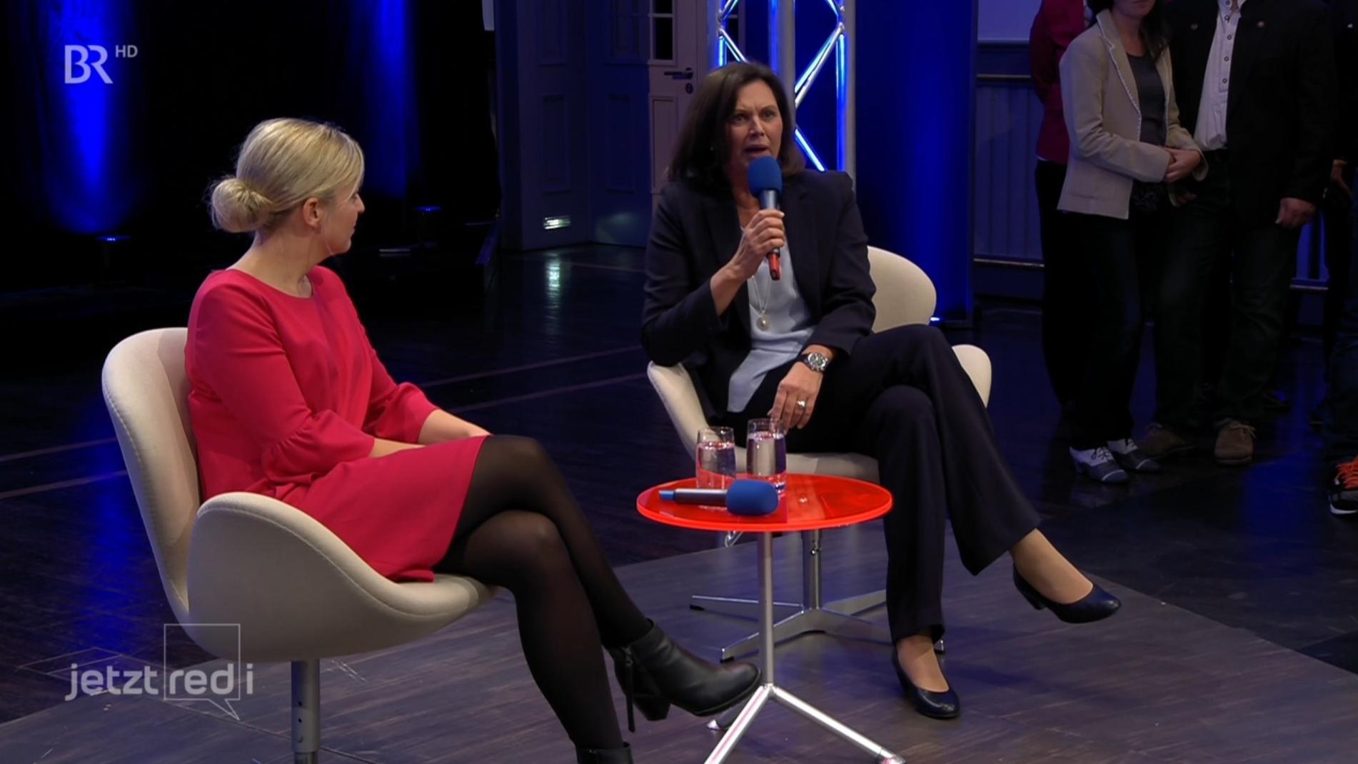 Schulze und Aigner im BR Fernsehen