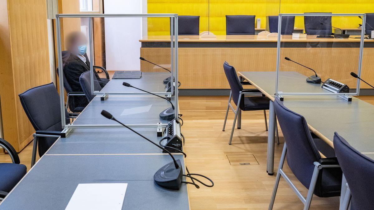 Bild aus dem Verhandlungssaal am Regensburger Landgericht