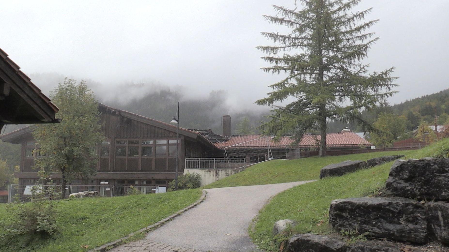 Nach Schulbrand in Berchtesgaden: Bald wieder Unterricht