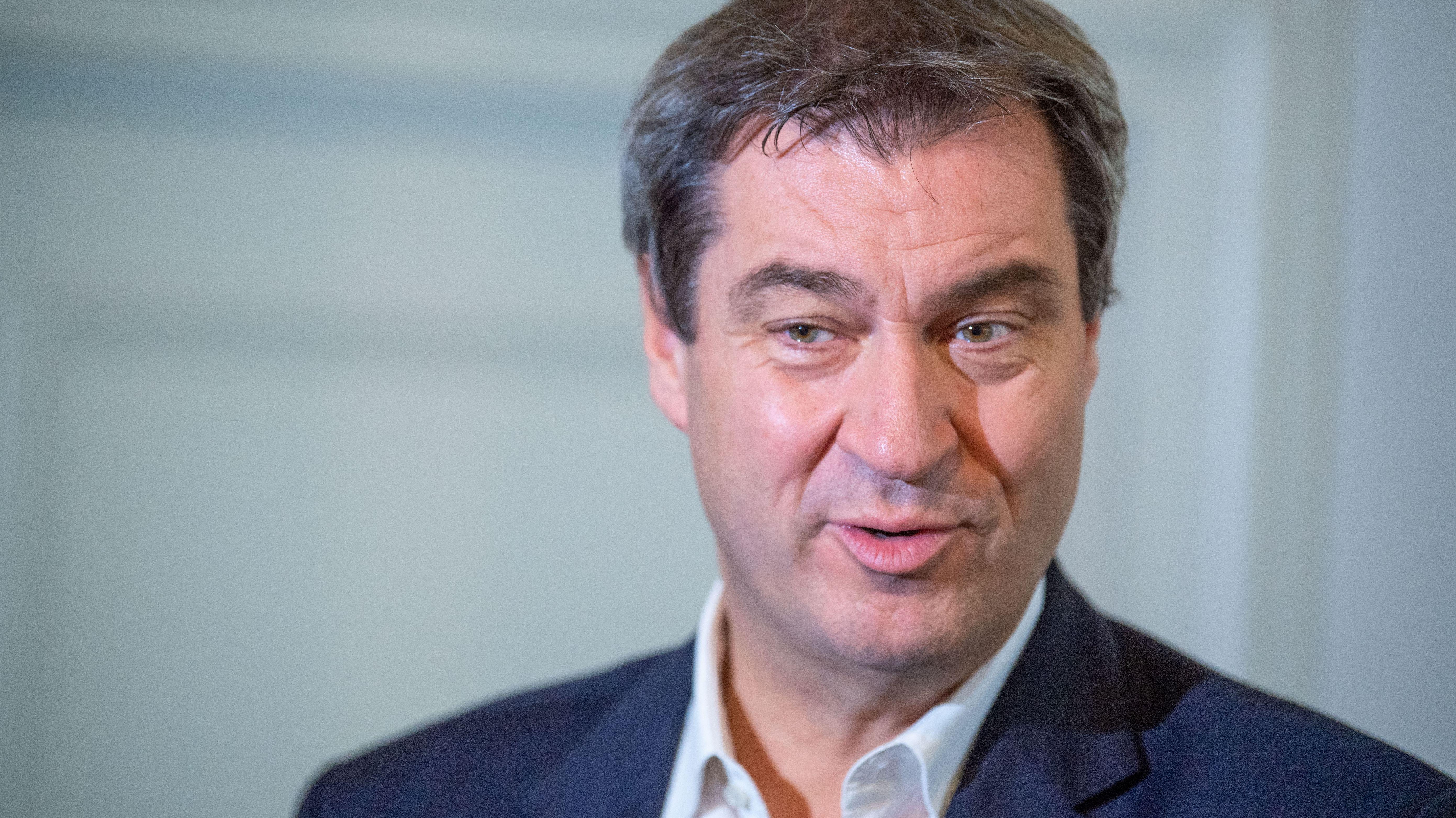 Bayerns Ministerpräsident Markus Söder
