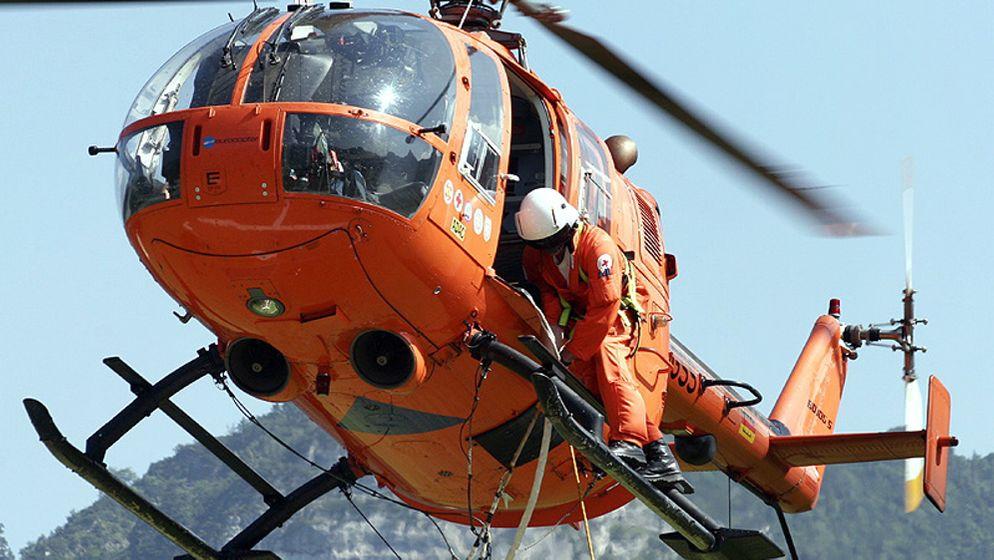 Symbolbild Rettungshubschrauber | Bild:picture-alliance/dpa