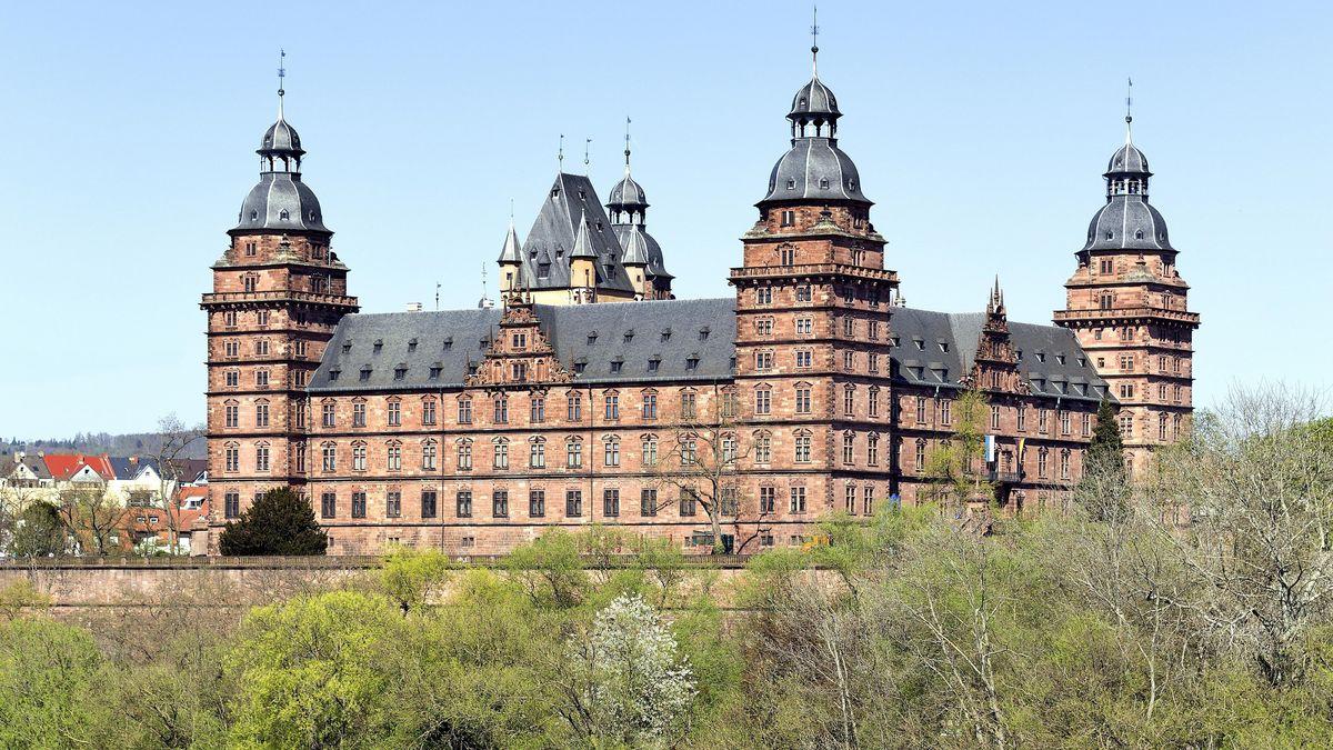 Schlossufer Aschaffenburg.
