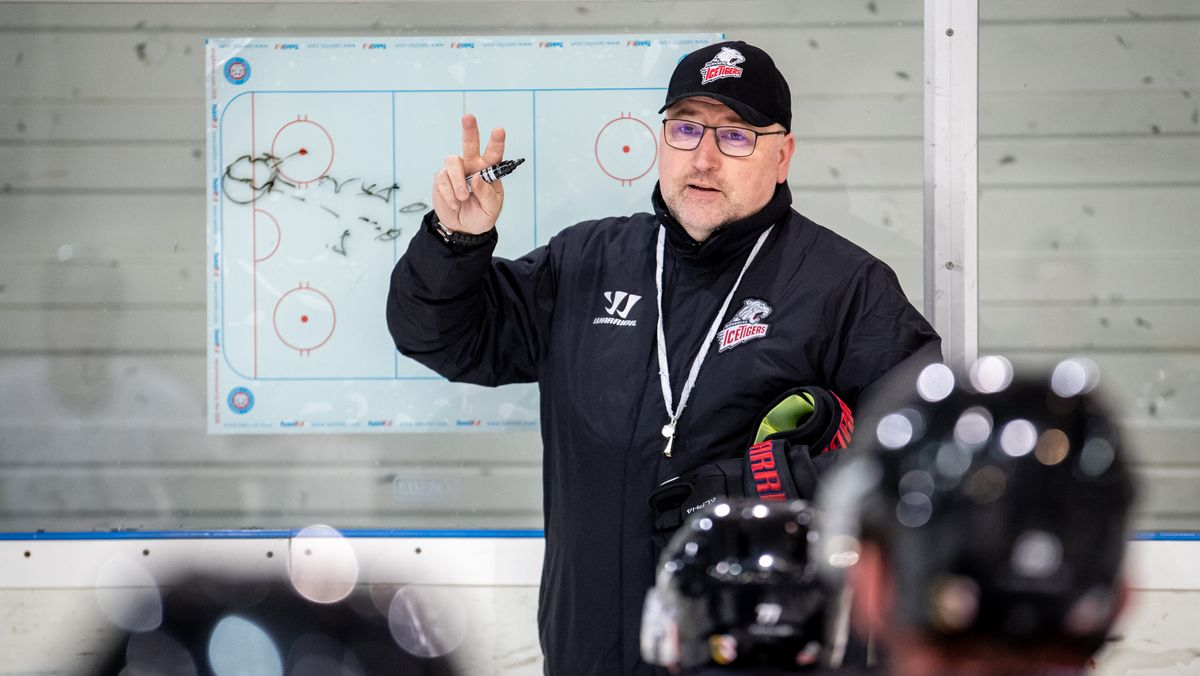 Nürnberg-Ice-Tigers-Coach Frank Fischöder