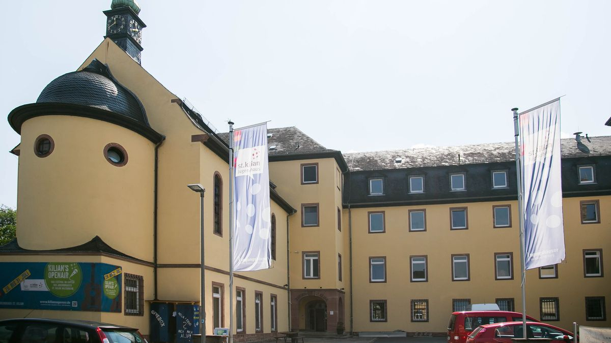 Das Jugendhaus St. Kilian der Diözese Würzburg.