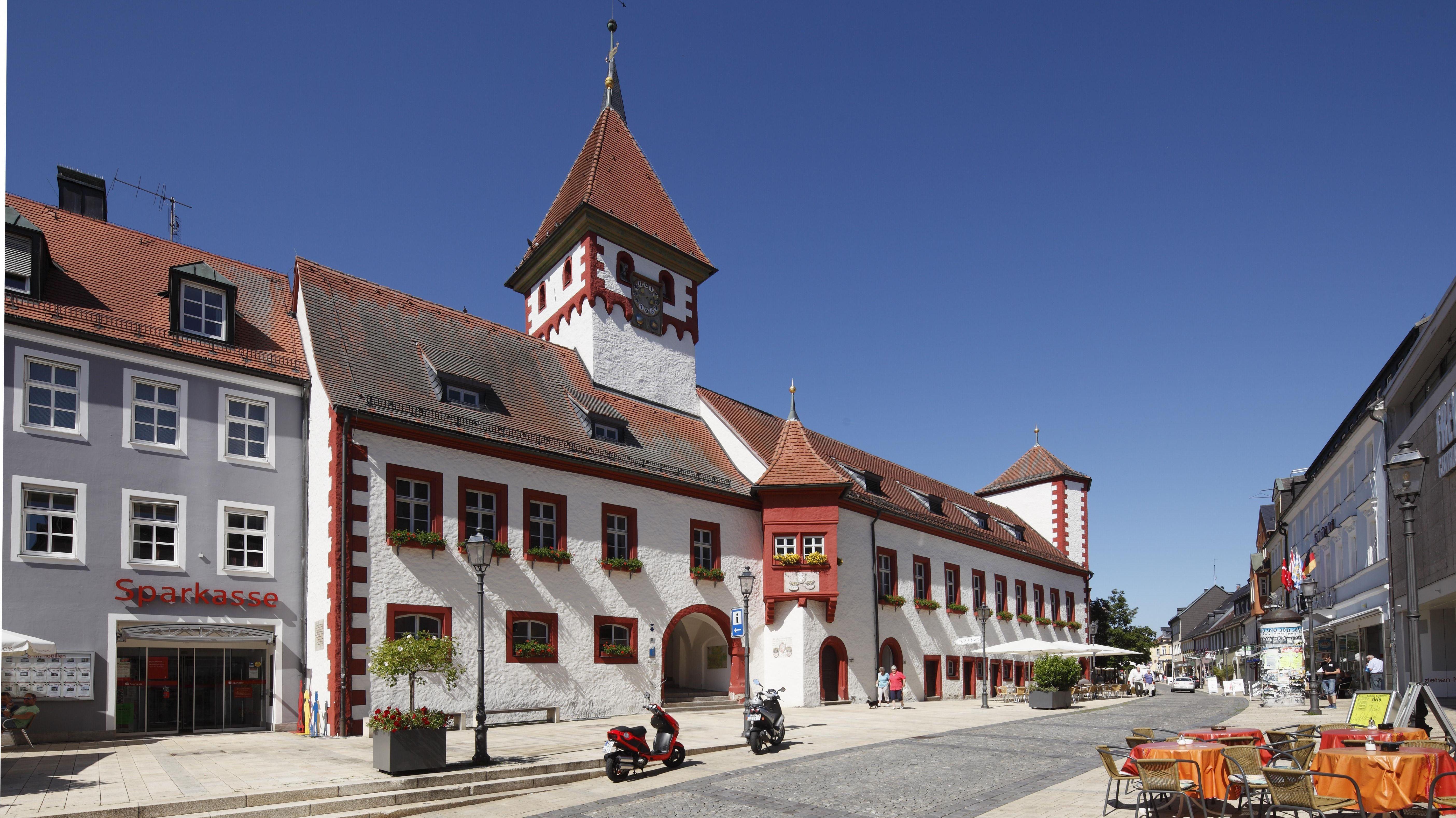 Historisches Rathaus in Marktredwitz
