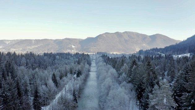 Naturpark Weißachau am Tegernsee ist ein Genossenschaftseigentum, um das sich aktuell 27 Eigentümer kümmern.
