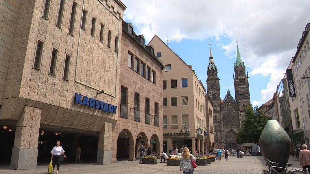 Karstadt-Filiale in Nürnberg