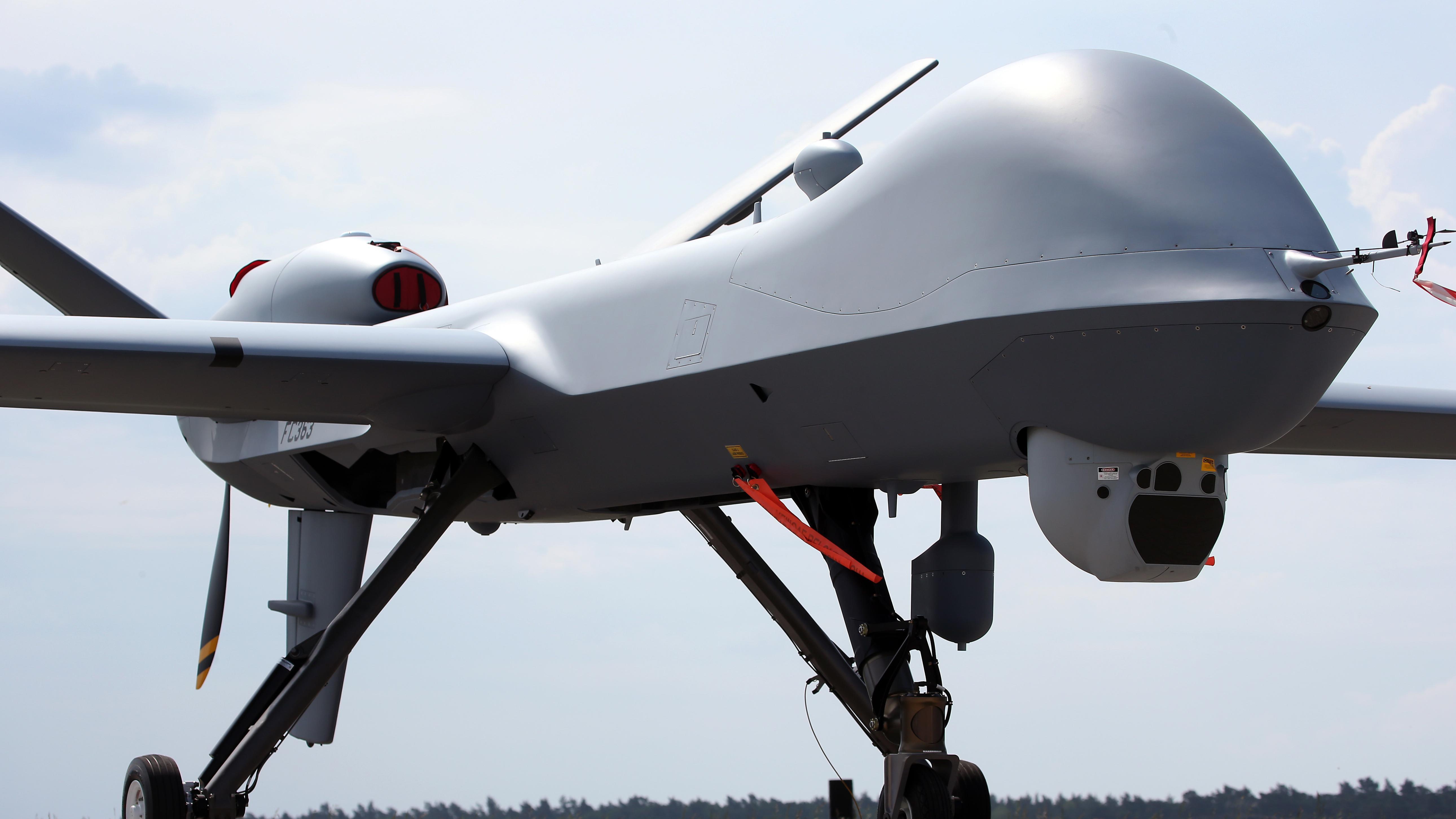 Eine Predator-Drone