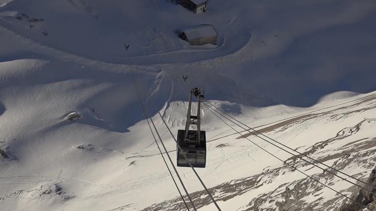 Kein Skibetrieb auf Zugspitze