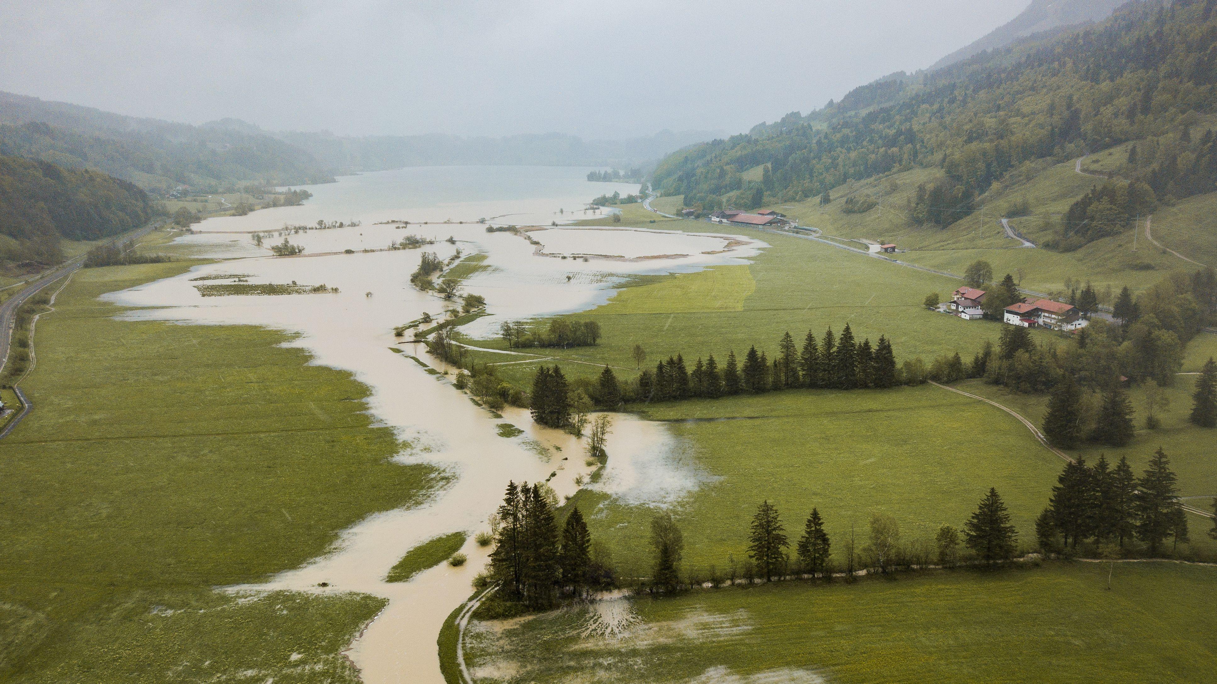 Hochwasser im Allgäu