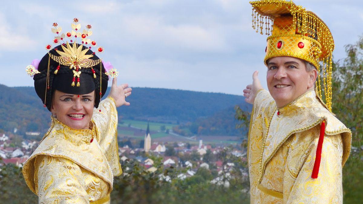 Das Dietfurter Kaiserpaar DaKare und DiMucki.