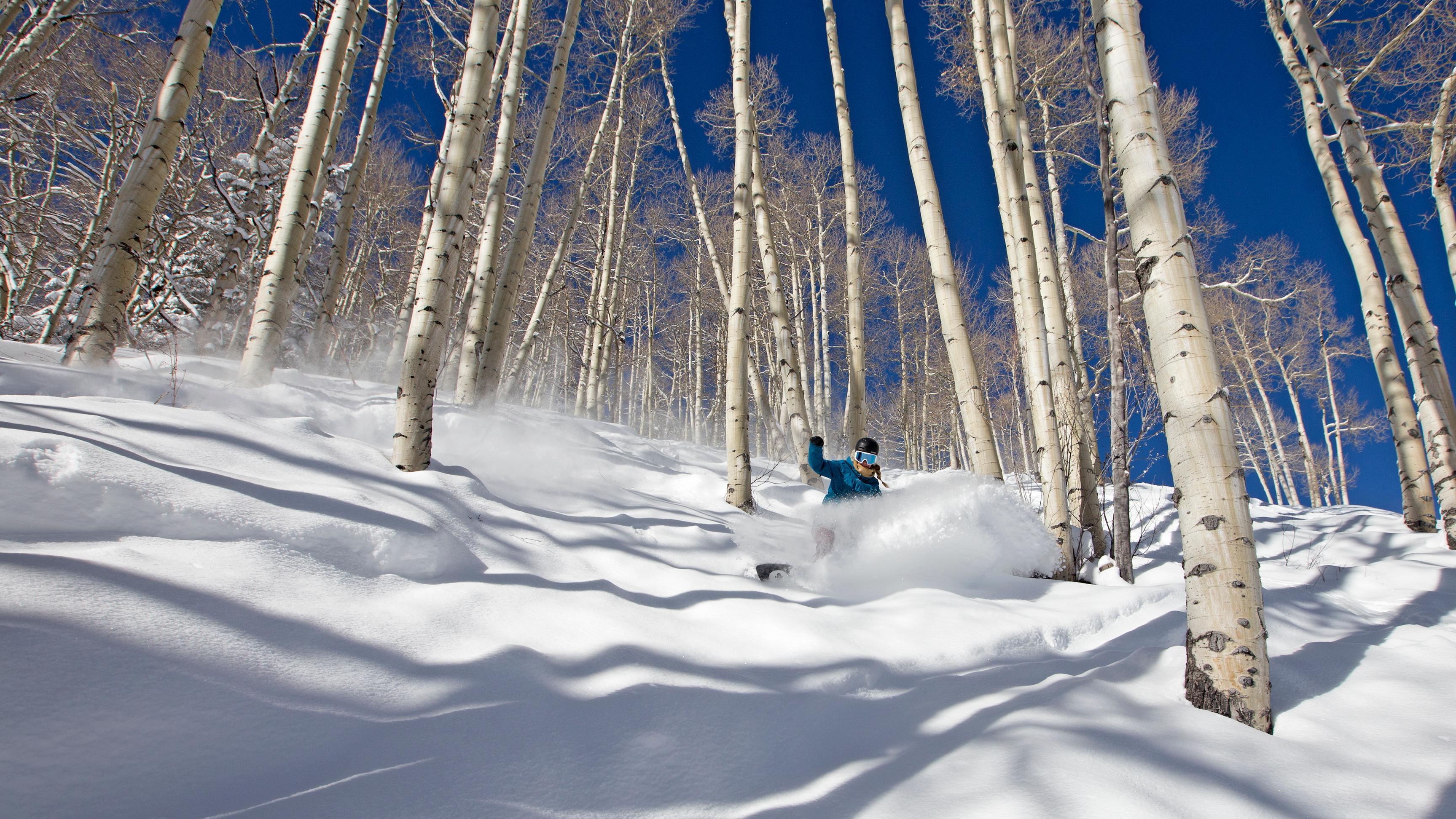 Skifahren in Aspen