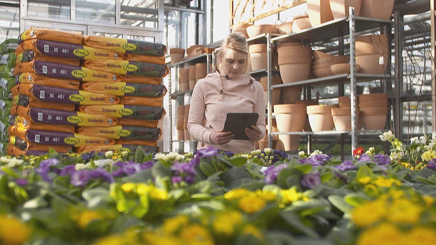 Gärtner-und Floristmeisterin Anna-Lena Wiedow