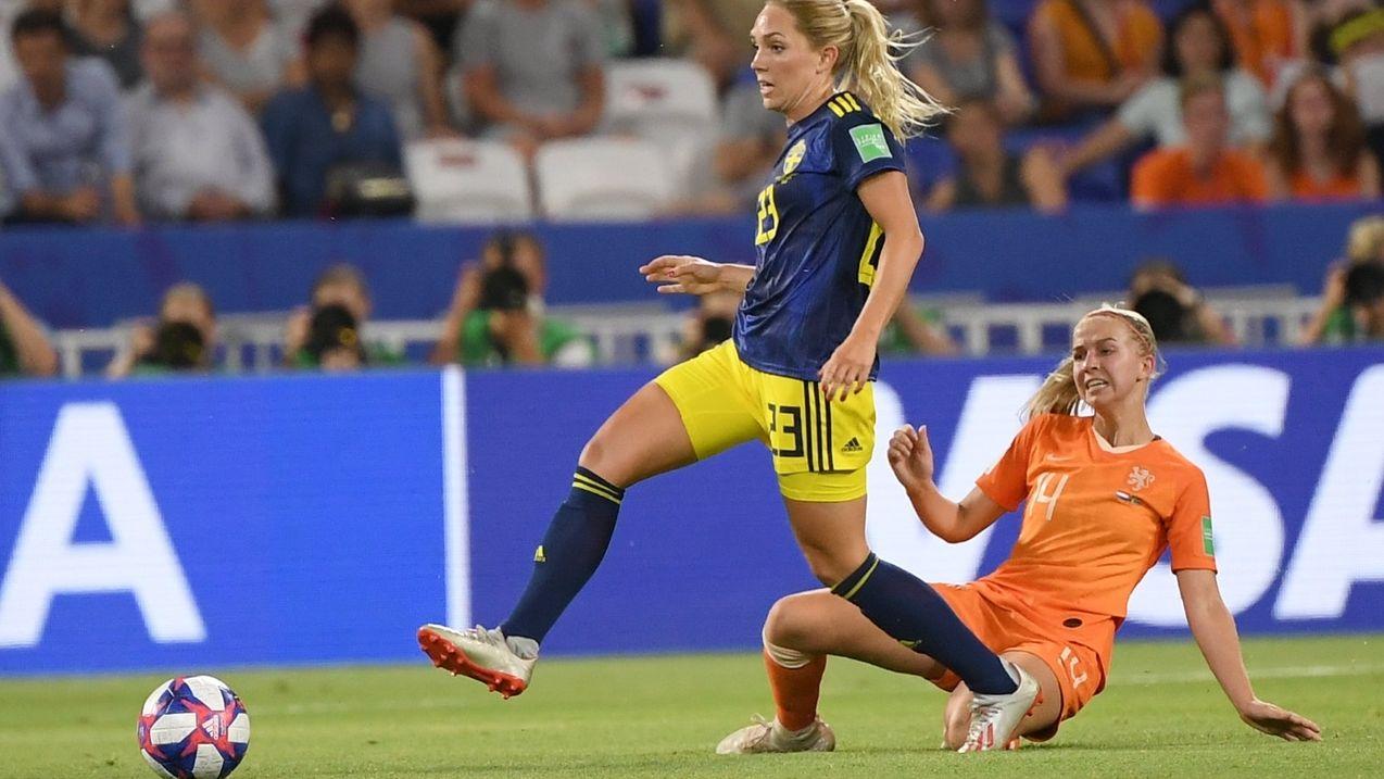 Frauenfußball-WM - Niederlande - Schweden