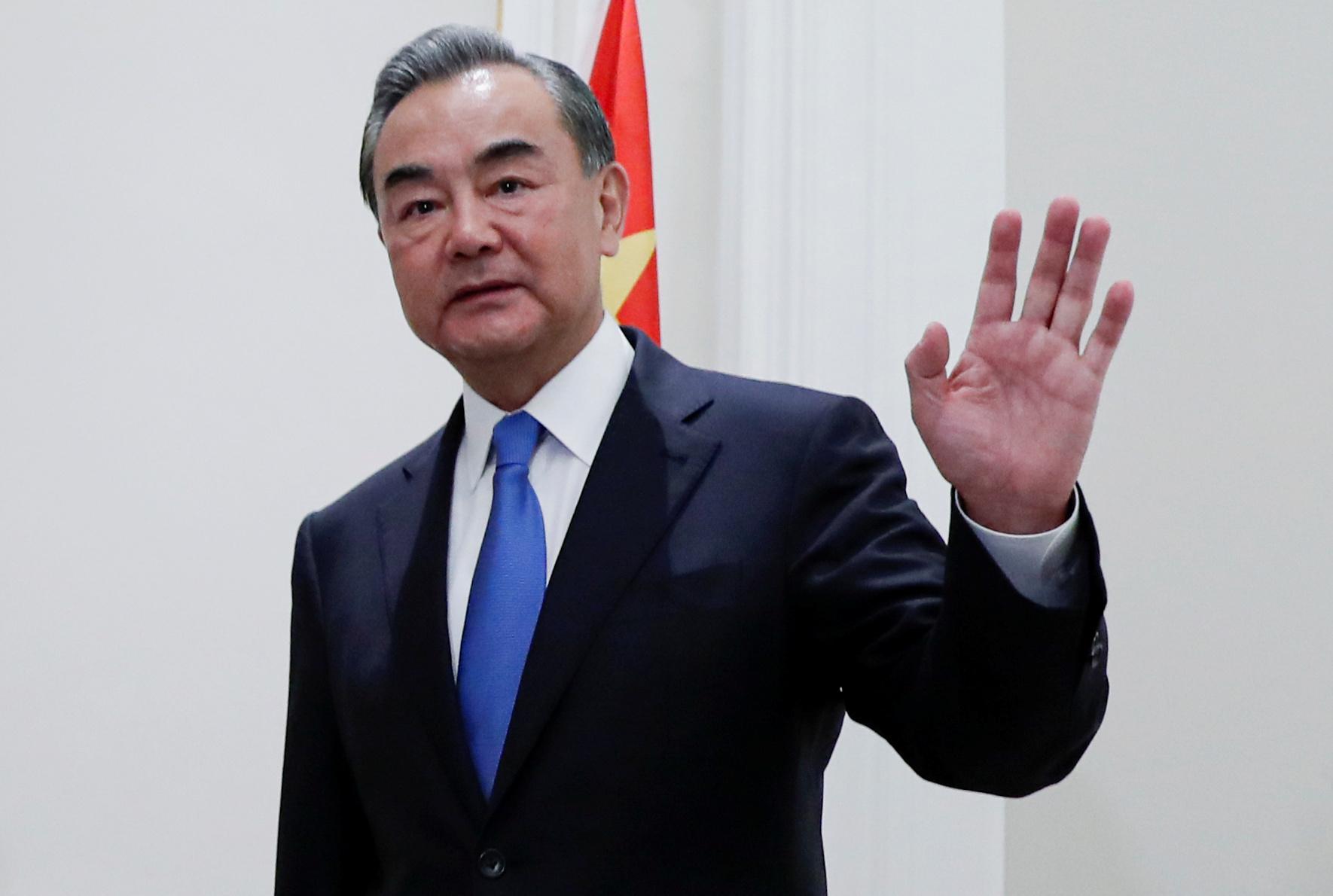 Maas und chinesischer Außenminister Wang auf Konfrontationskurs