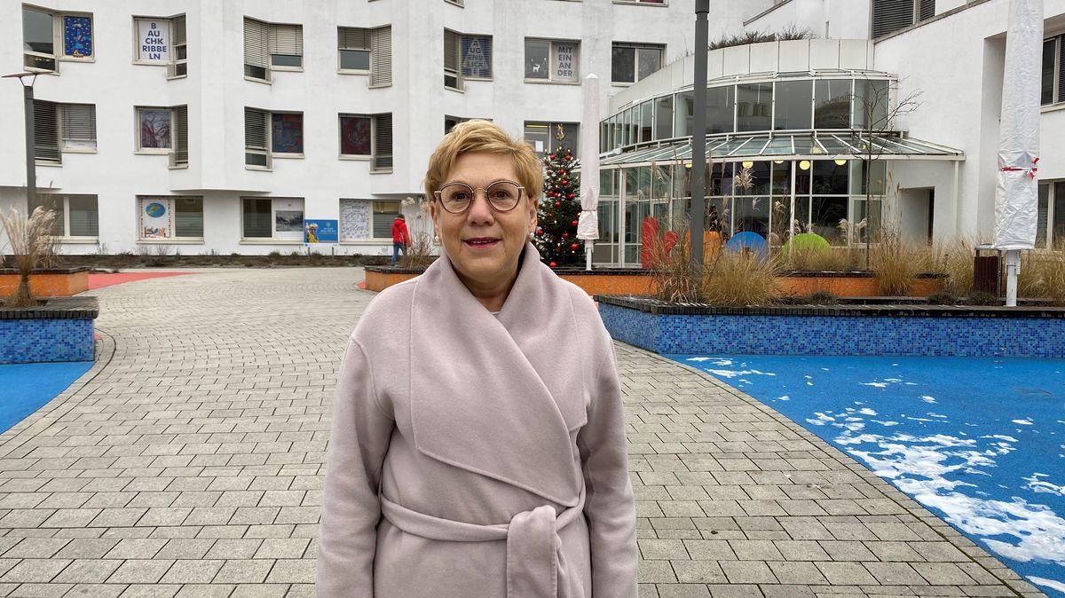 Sabine Beiser, Geschäftsführerin der Klinik St. Hedwig, in Regensburg.