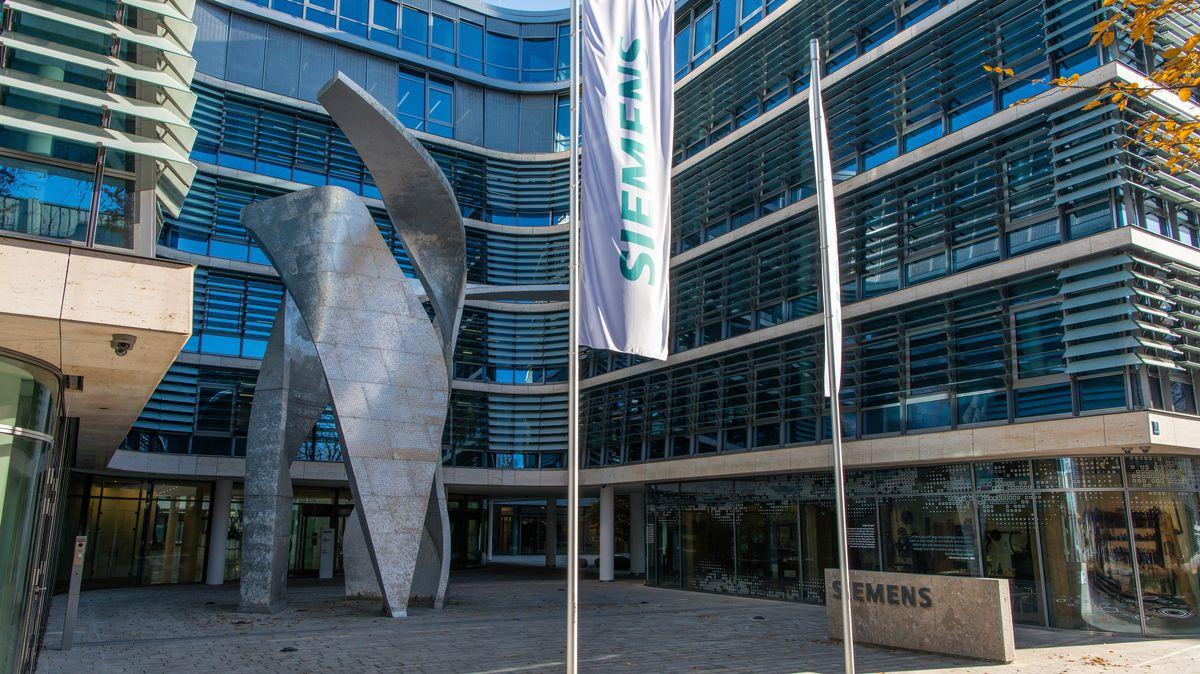 Siemens-Firmenzentrale in München