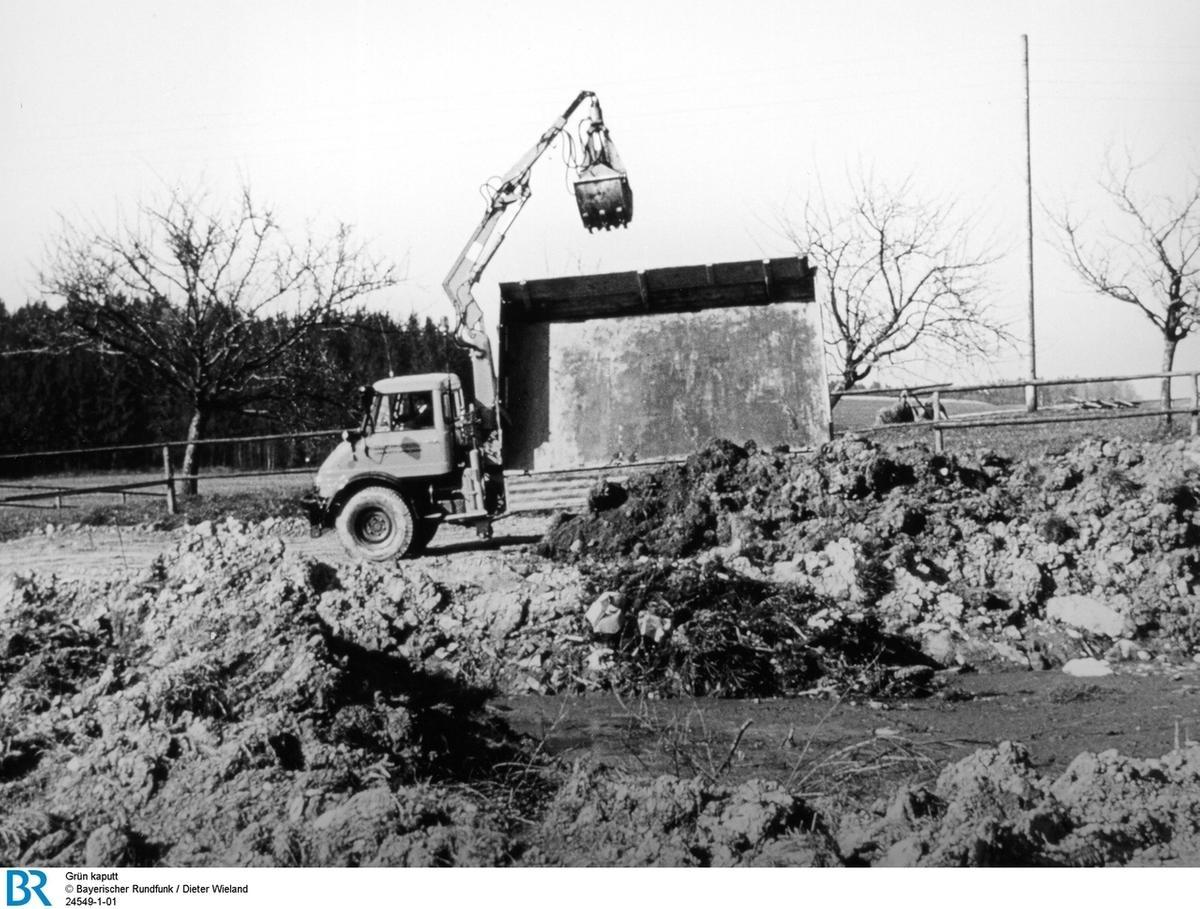 Topographie (1983) : Grün kaputt - Landschaft und Gärten der Deutschen