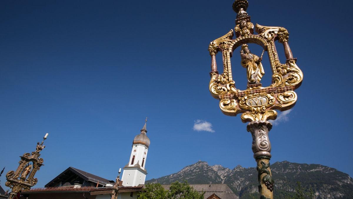 Gottesdienste zu Fronleichnam in Bayern