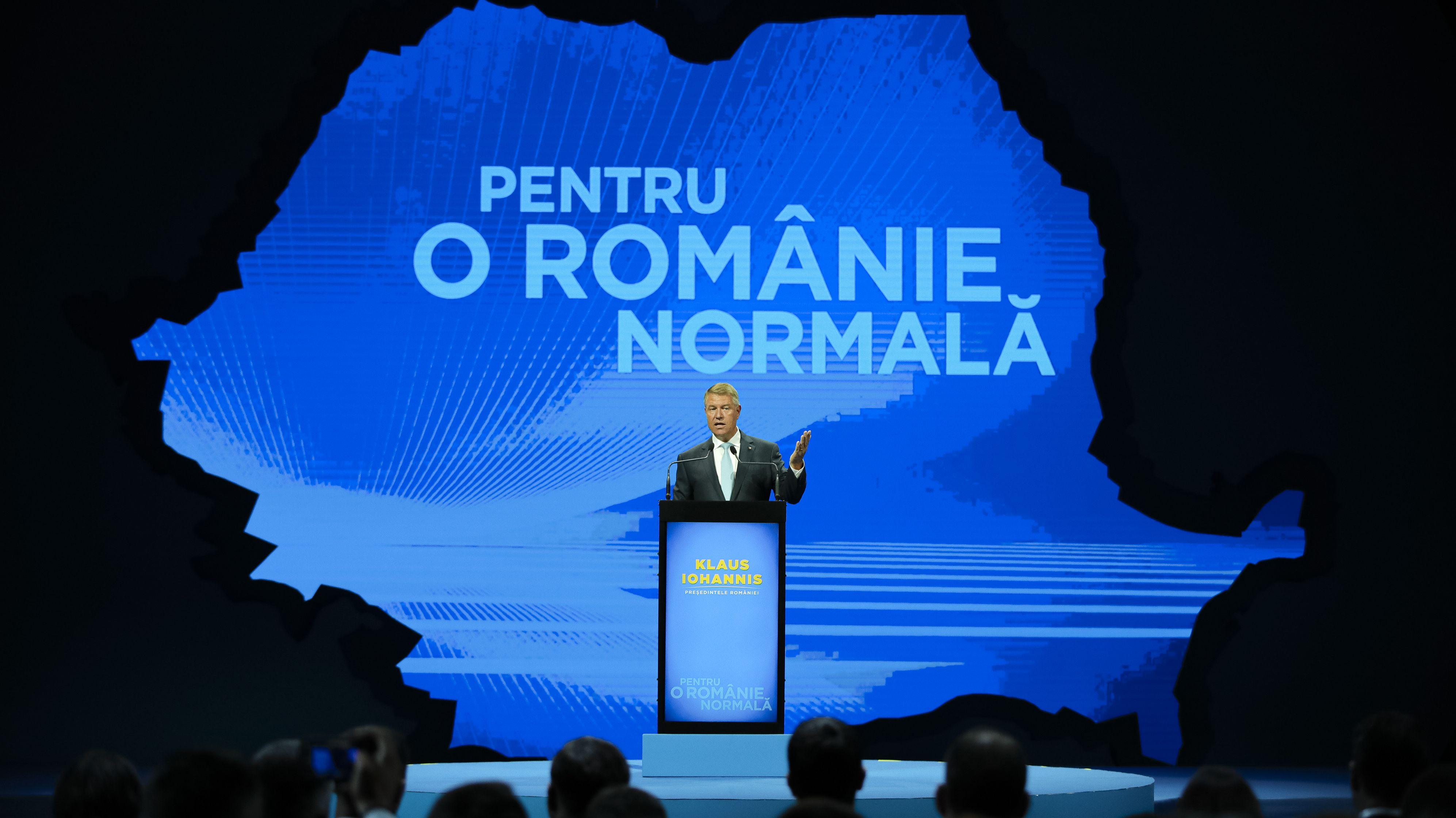 Der rumänische Staatschef Klaus Iohannis