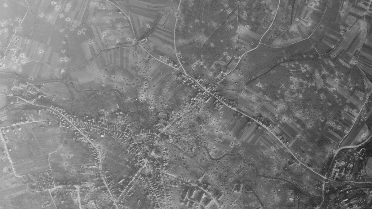 Aschaffenburg: Luftbild vom 3. April