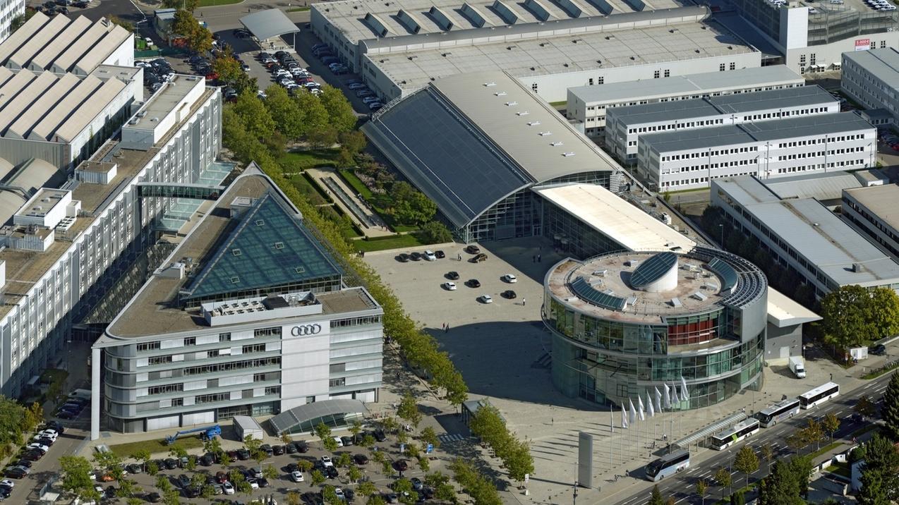 Audi-Gelände in Ingolstadt