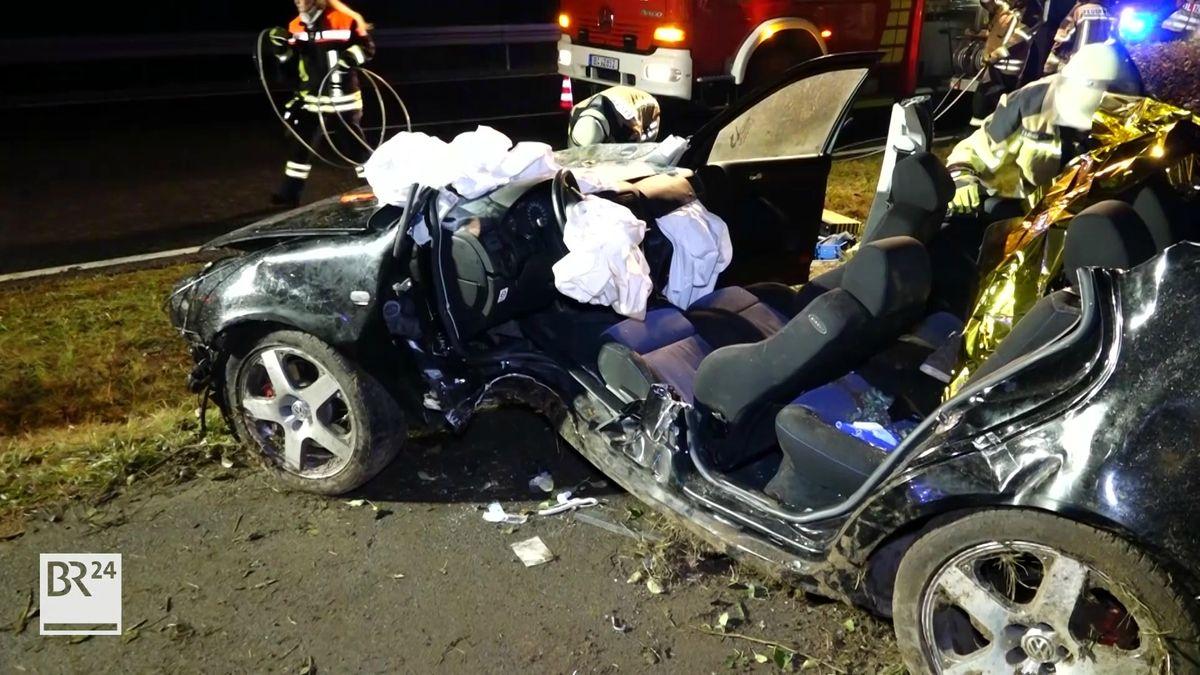 Autounfall im Landkreis Bamberg