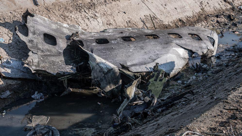 Ukrainischer Flugzeugabsturz im Iran.
