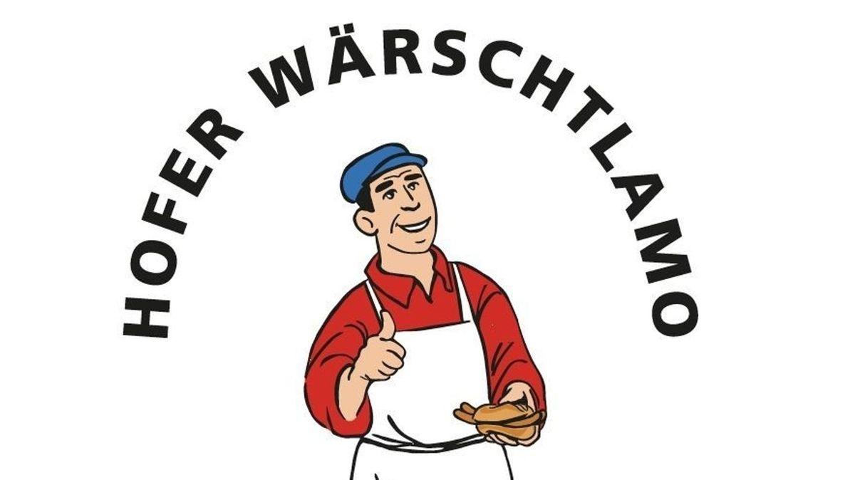 """Dieses Logo des Hofer """"Wärschtlamos"""" musste die Stadt Anfang Februar nach nur wenigen Tagen, aber viel Kritik zurücknehmen.."""