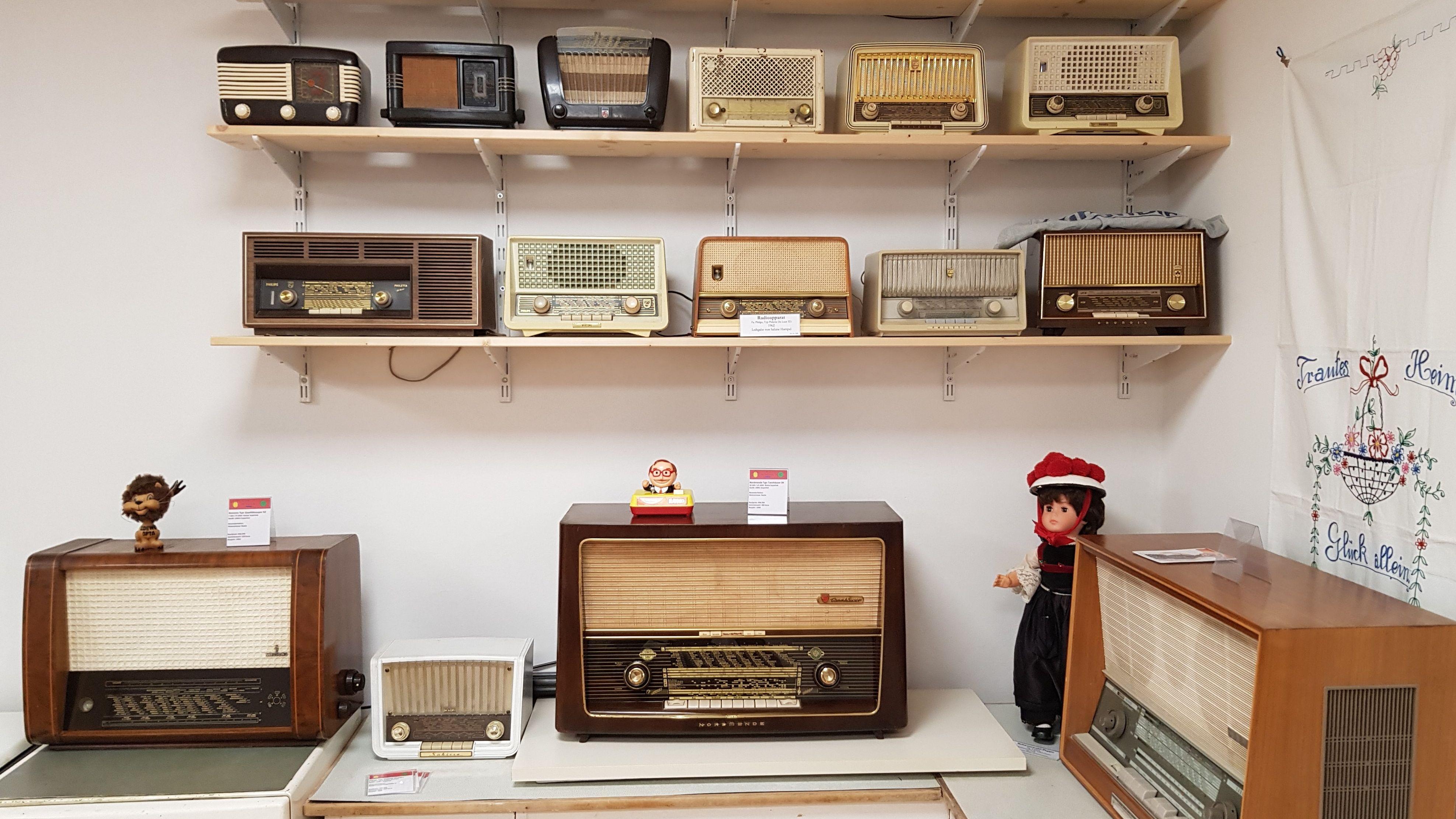 Radioausstellung im Betriebsmuseum der WVV