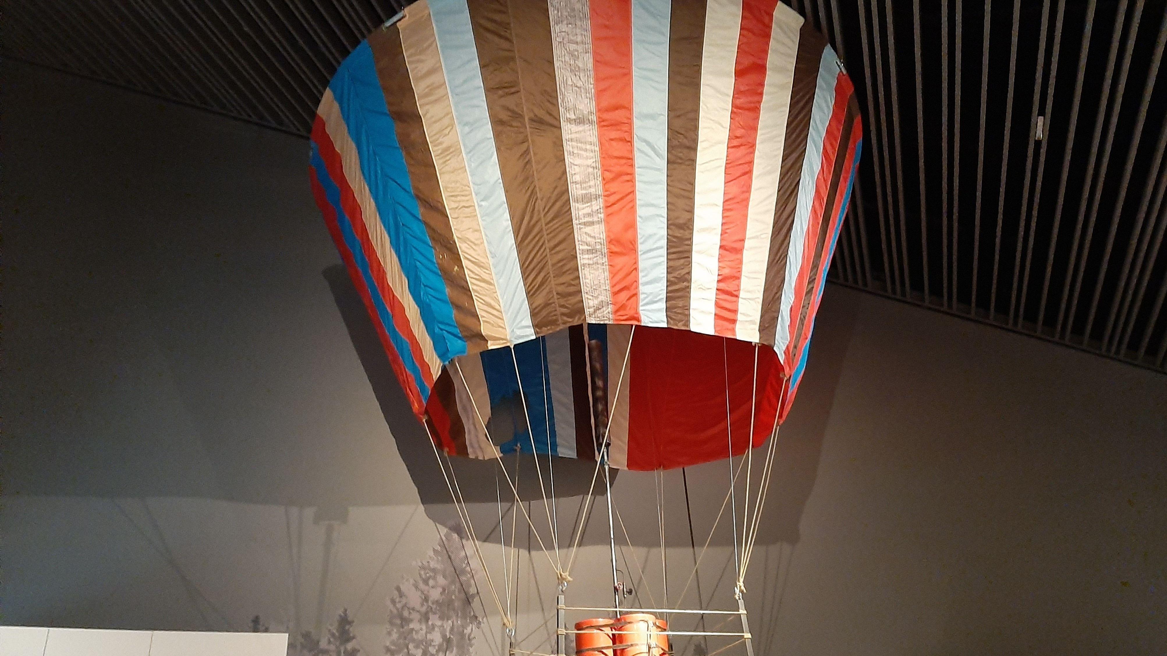 Die Rekonstruktion des DDR-Fluchtballons aus dem Kinofilm