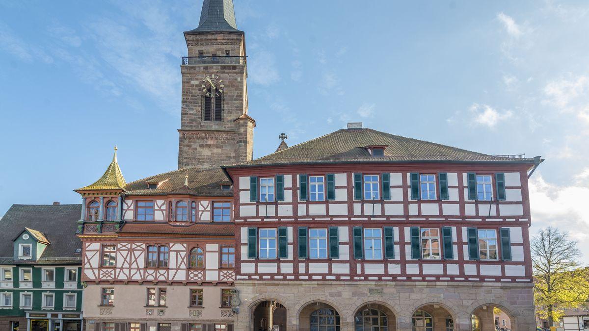 Das Rathaus in Schwabach