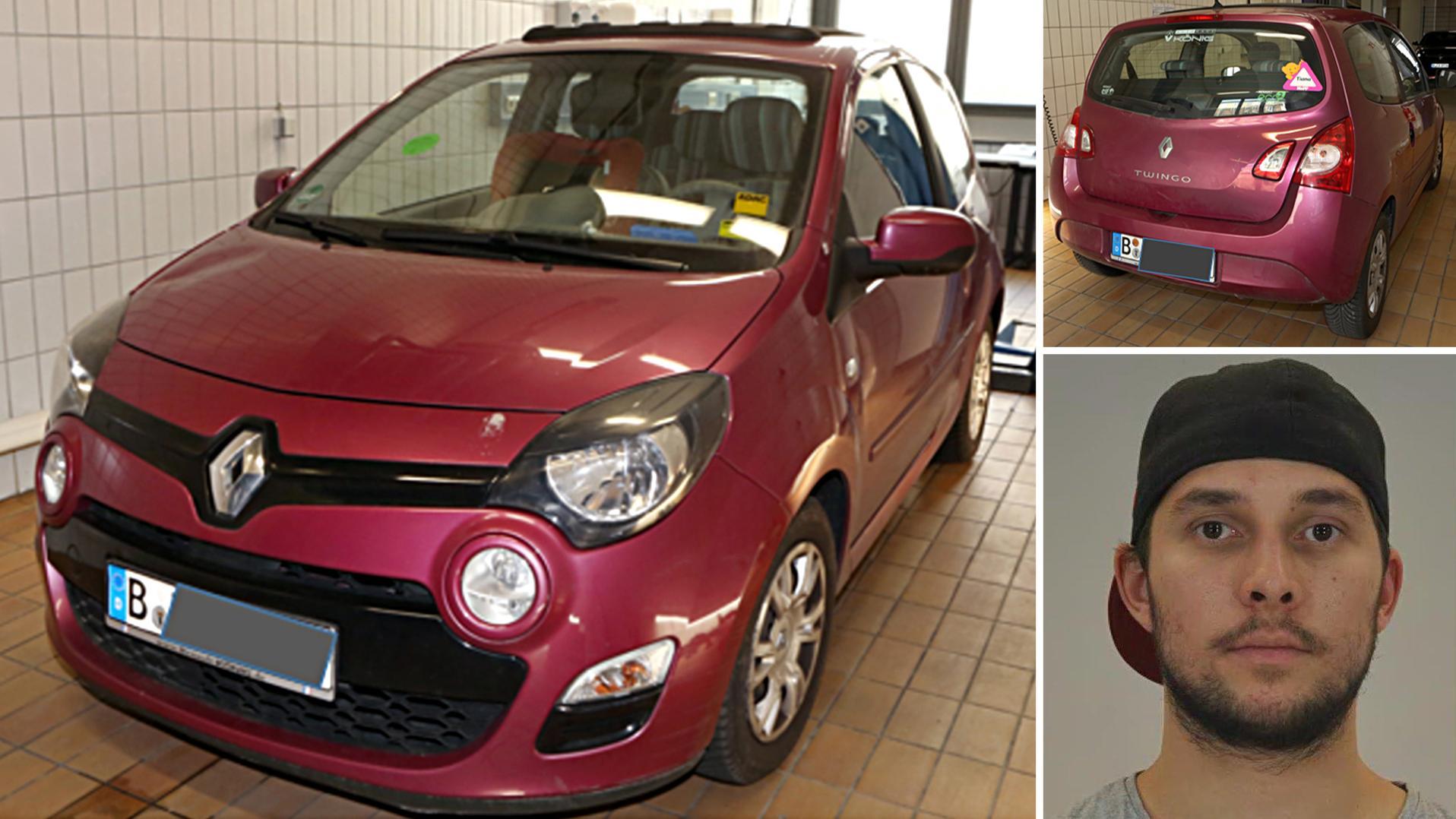 Montage: Renault Twingo und Rebeccas verdächtiger Schwager