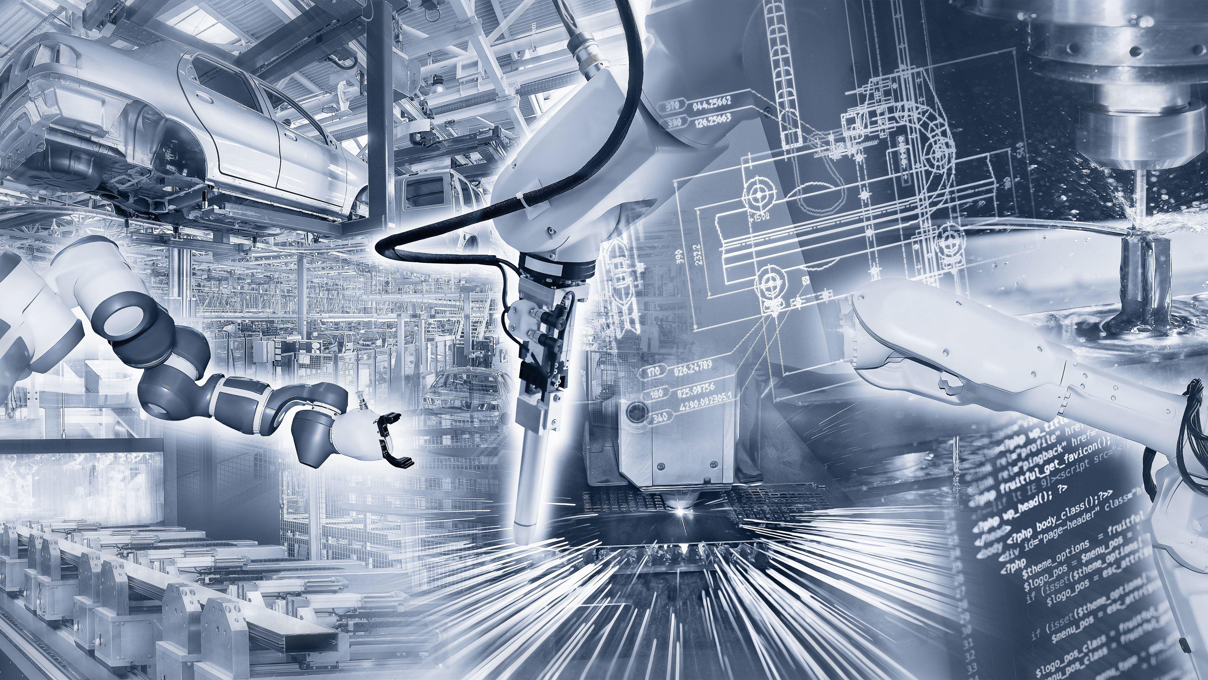 vernetzte Fabriken