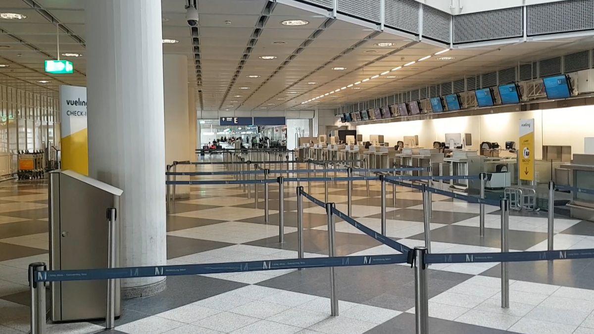 Am Flughafen München herrscht Flaute. Nur noch knapp zehn Prozent der Passagiere starten und landen. 6.000 sind es noch am Tag. In normalen Zeiten wären es 130.000.