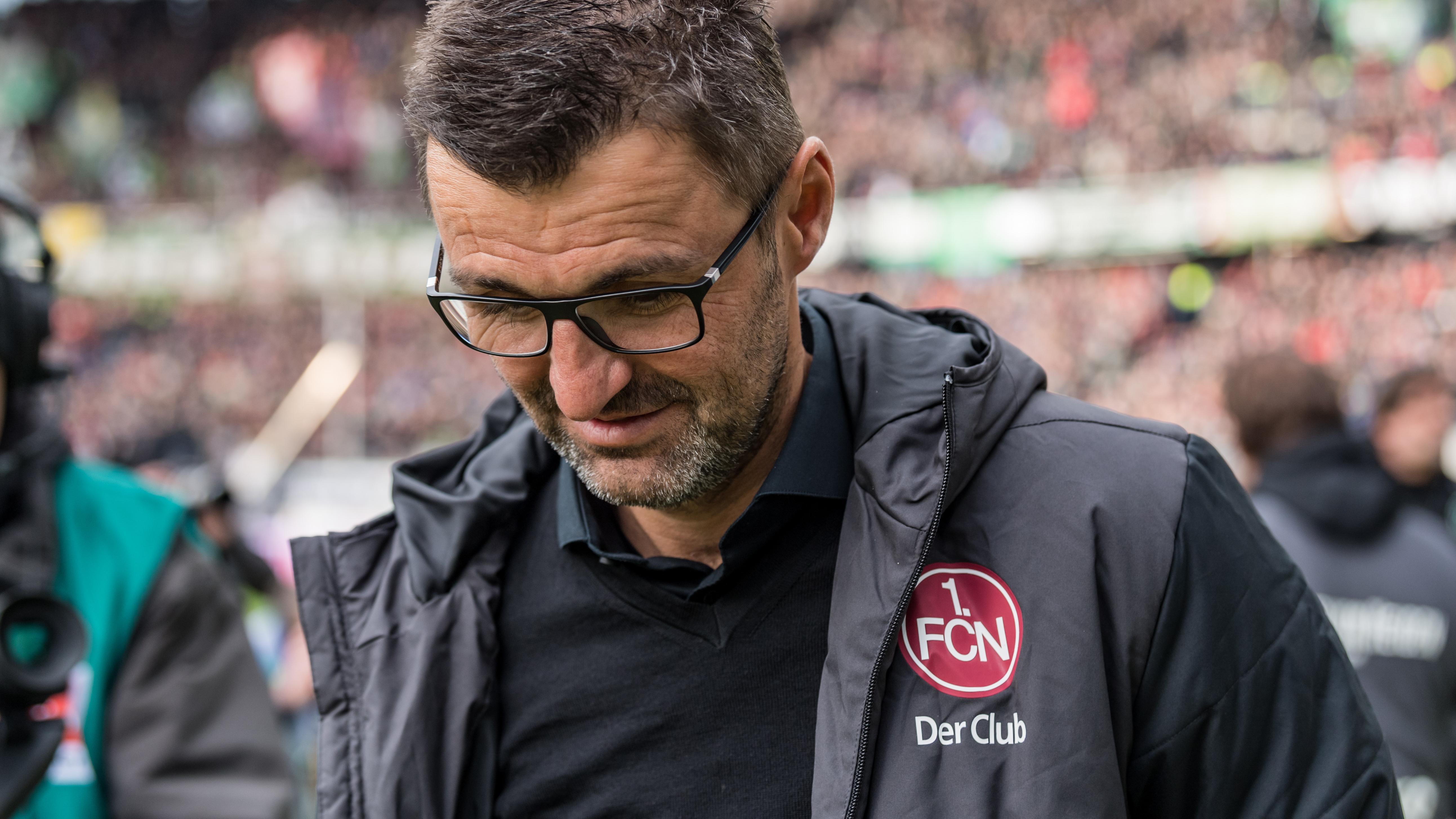 FCN-Trainer am 09.02.19 im Hannoveraner Stadion