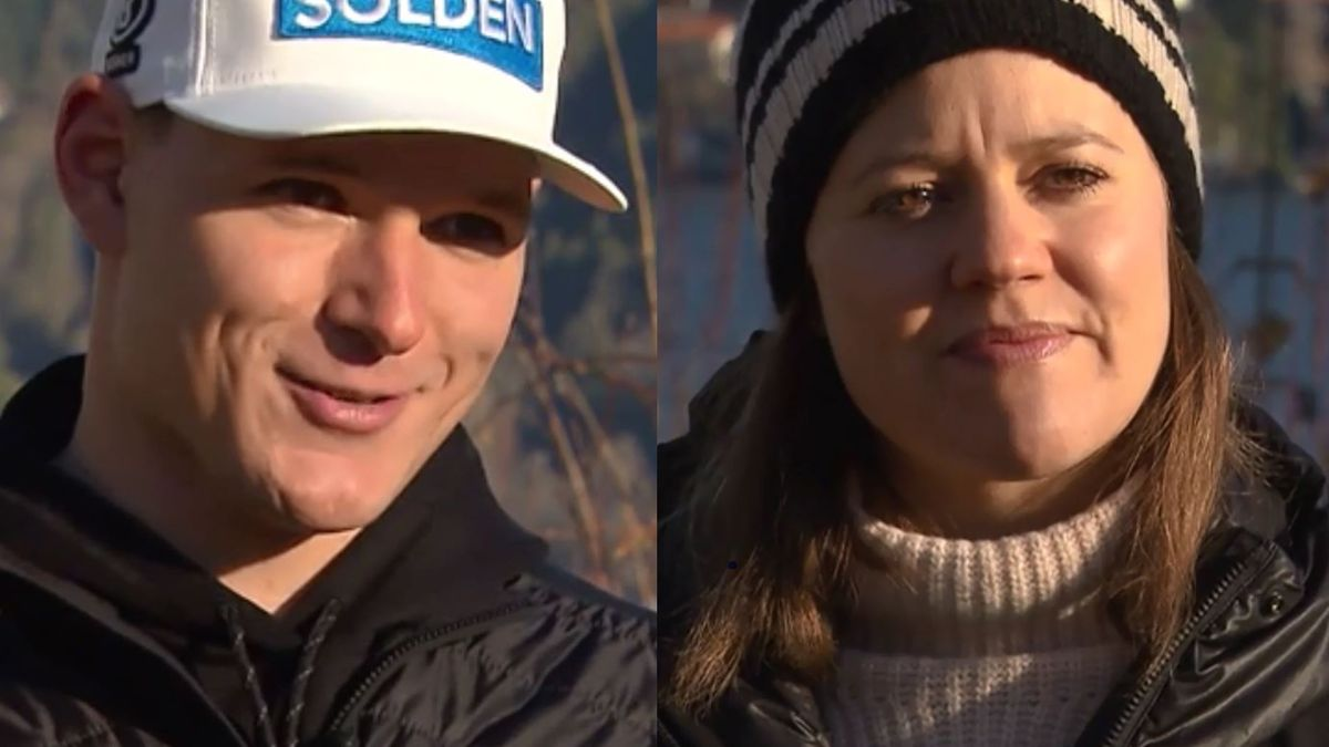 Thomas Dreßen und Viktoria Rebensburg