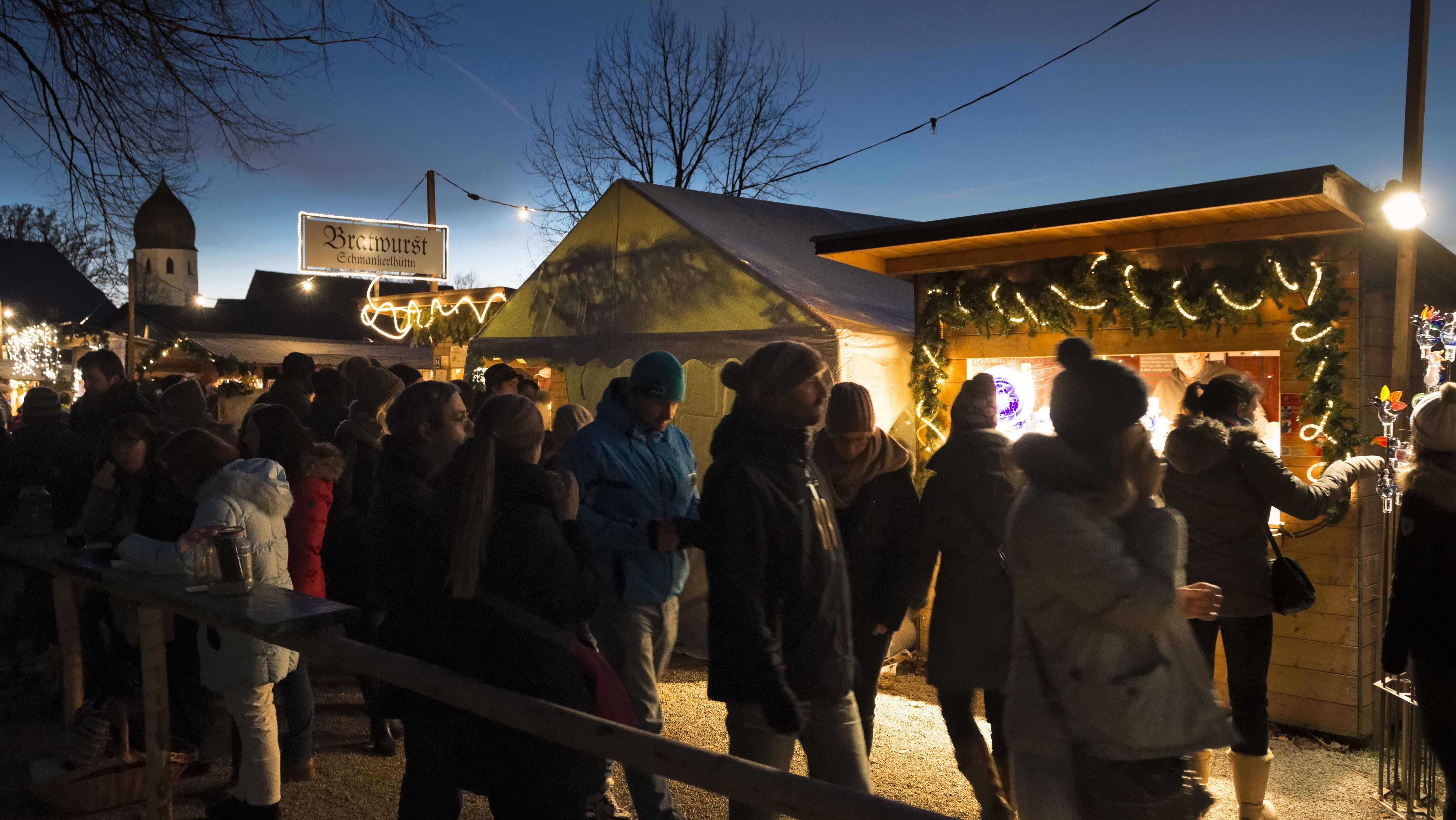 Weihnachtsmarkt auf der Fraueninsel