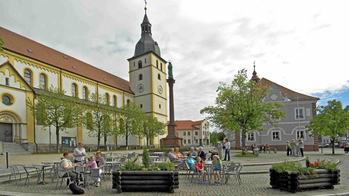 Stadtansicht von Mitterteich