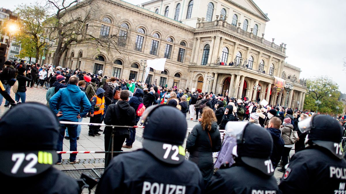 Lockdown-Prostest-Demo am 21.11. in Hannover