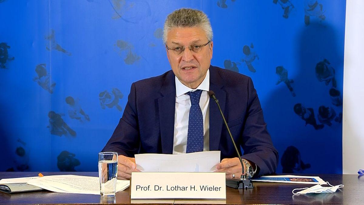 Der Präsident des Robert Koch-Instituts, Lothar Wieler, ist besorgt über die jüngste Entwicklung der Corona-Pandemie in Deutschland.
