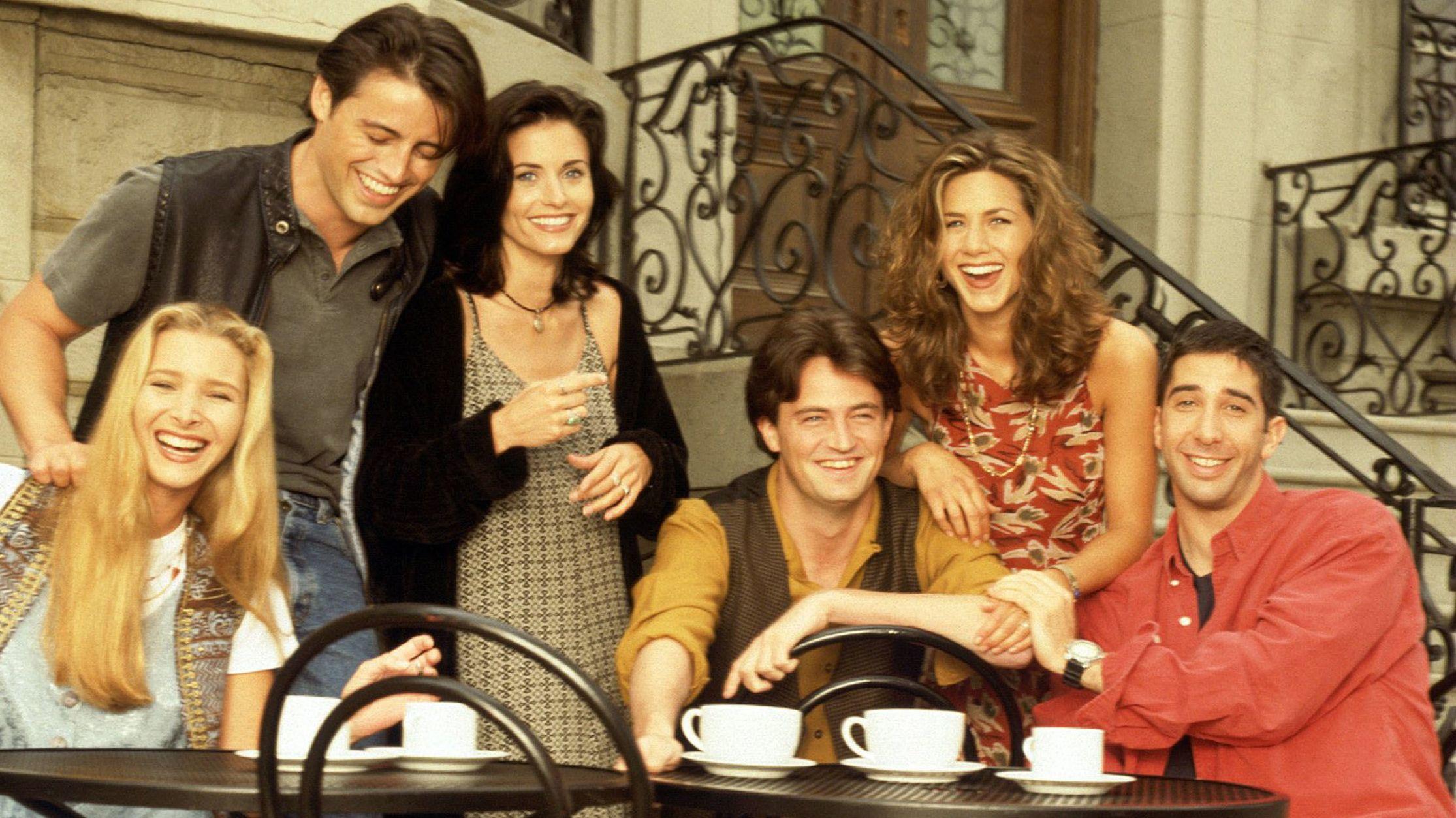 "Februar 2002: Die Stars der Sitcom ""Friends"""
