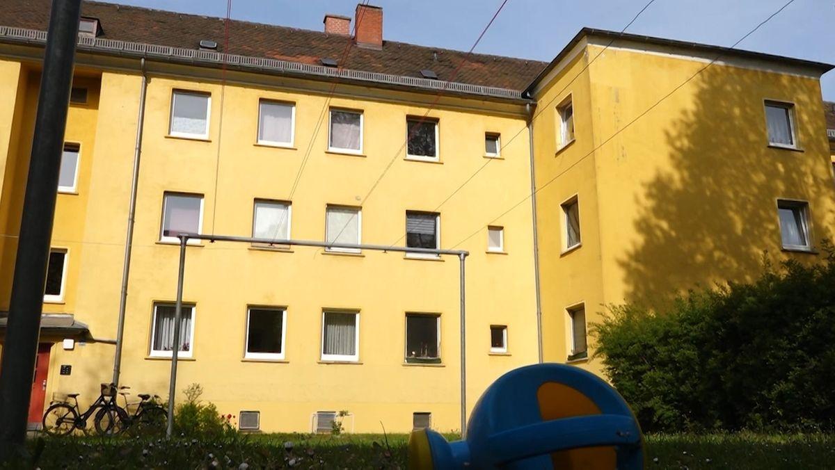 Das Haus, aus dem das Kind stürzte