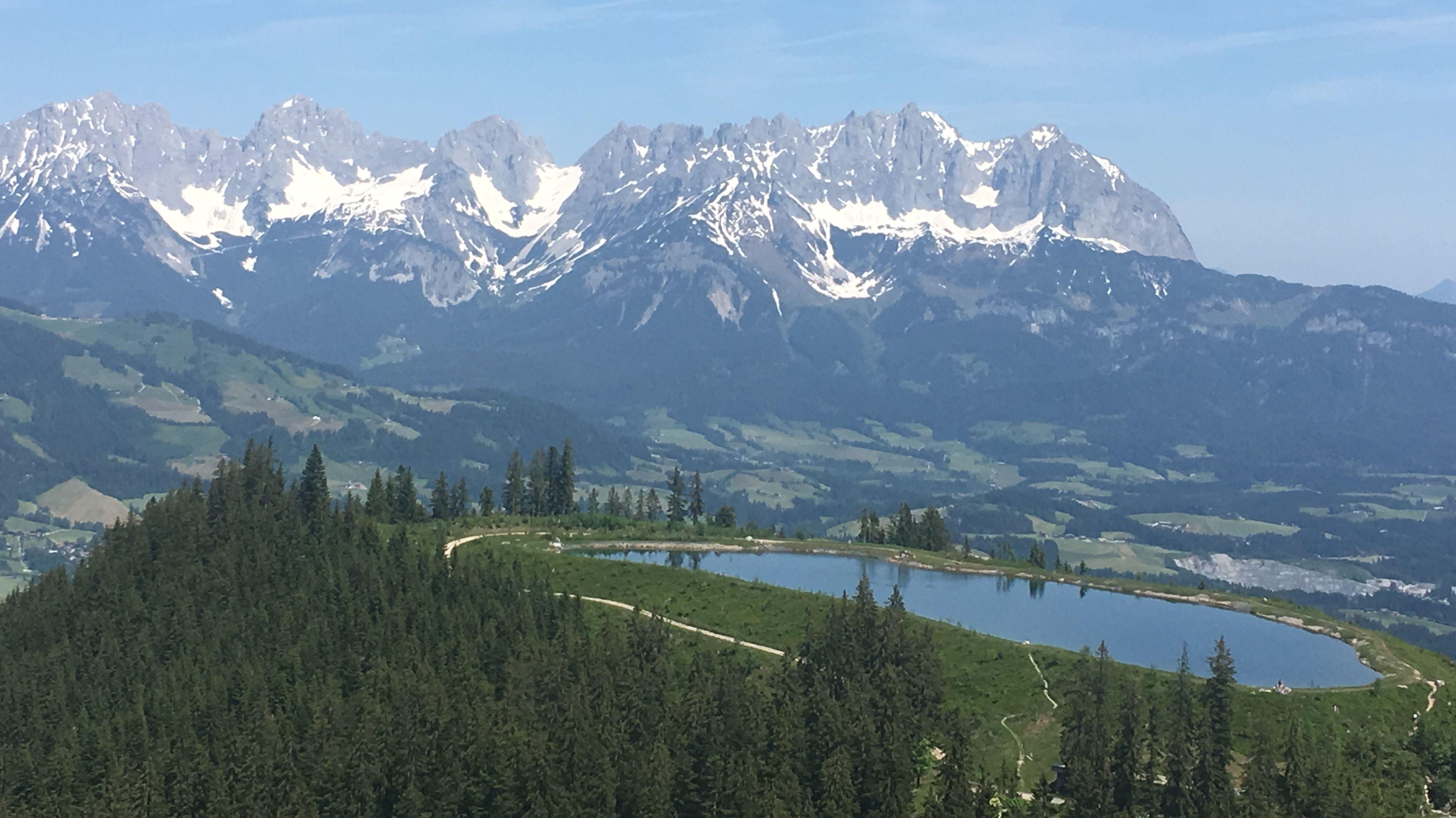 Der Wilde Kaiser als Panorama