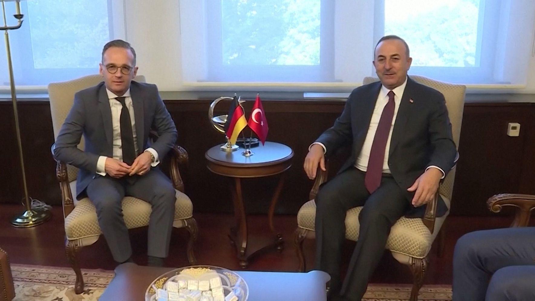 Maas und Çavuşoğlu