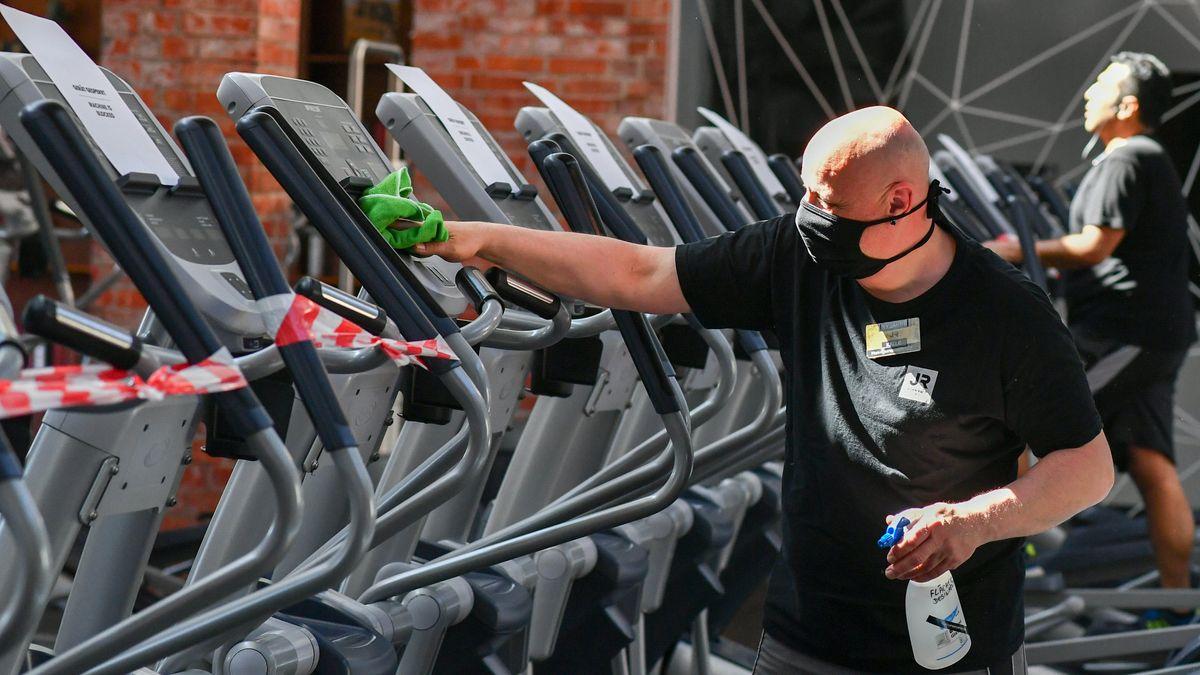 Wie ein Besuch im Fitnessstudio in Zeiten von Corona abläuft